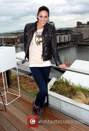 Glenda Gilson - Marcus Collins and Glenda Gilson pose during a photoshoot on the rooftop of the Marker Hotel. Marcus...