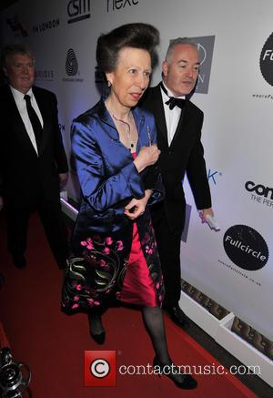 Princess Anne and Princess Royal - Natwest UK Fashion and Textile Awards 2013 held at One Mayfair - Arrivals -...