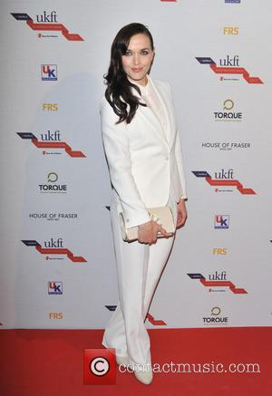 Victoria Pendleton - Natwest UK Fashion and Textile Awards 2013 held at One Mayfair - Arrivals - London, United Kingdom...