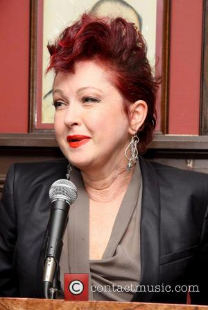 Cyndi Lauper - The 2013 Outer Critics Circle Awards held at Sardi's restaurant - New York City, New York, United...