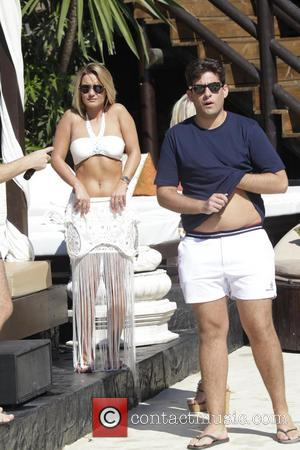 Sam Faiers and James 'arg' Argent