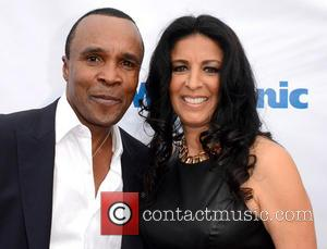 Sugar Ray Leonard and Guest