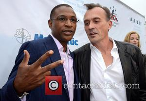 Tommy Davidson and Robert Knepper - 'Big Fighters, Big Cause' Annual Gala Charity Fight Night - Arrivals - Los Angeles,...