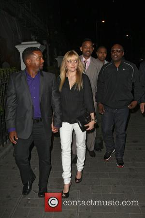 Alfonso Ribeiro, Will smith and Jazzy J - Celebrities arriving for DJ AcE aka Trey Smith live performance at Boujis...