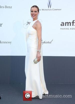 Eva Herzigova - 66th Cannes Film Festival - amfAR's 20th Annual Cinema Against AIDS 2013 - Arrivals - Cannes, France...
