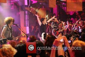 Fall Out Boy - Fall Out Boy interview and performance on LIVE AT MUCH television show. - Toronto , Ontario,...