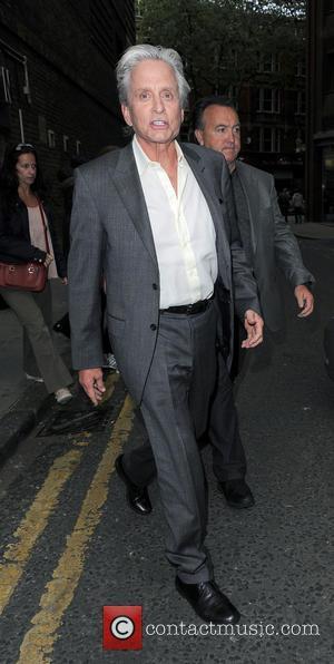 Michael Douglas - Michael Douglas In Covent Garden