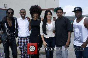 Eddie Rouse, Mayden Hollywood, Branden Lark, Wanda Patterson, Laura Soares and Mr. Robotic