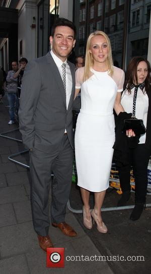 Camilla Dallerup and Kevin Sacre - 'The Big Wedding' film screening at The Mayfair Hotel - London, United Kingdom -...