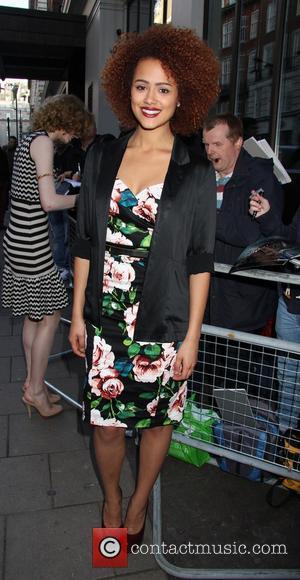 Nathalie Emmanuel - 'The Big Wedding' film screening at The Mayfair Hotel - London, United Kingdom - Thursday 23rd May...