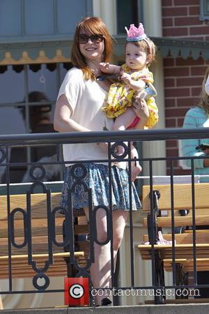 Alyson Hannigan and Keeva Jane Denisof - Alyson Hannigan and her family celebrate her daughter Keeva's first birthday with a...