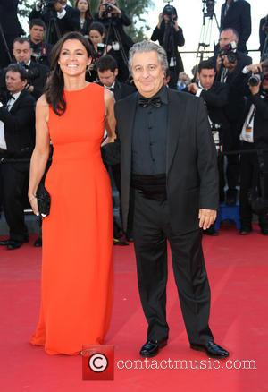 Isabelle De Araujo and Christian Clavier