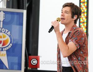Nate Ruess Gets Soaked During Rainy Gig In Texas