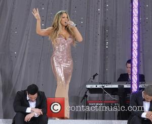 Mariah Carey Nearly Gives Crowd An Eyeful During Good Morning America Live Show