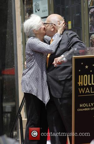 Olympia Dukakis and Ed Asner