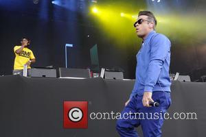Robbie Williams and Dizzee Rascal