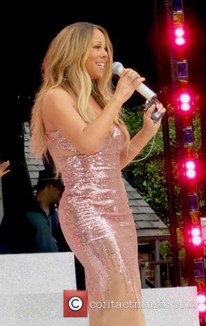 Mariah Carey - Mariah Carey performing live on ABC's 'Good...