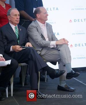 Mayor Michael Bloomberg and Richard Anderson