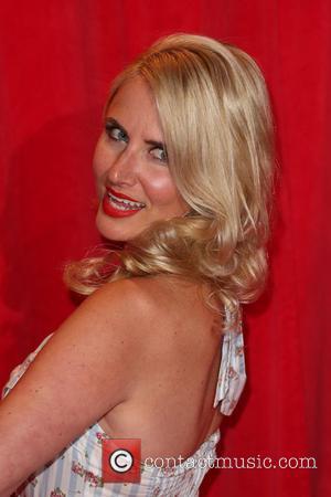 Nancy Sorrell - The British Soap Awards 2014 held at Hackney Empire - Arrivals - London, United Kingdom - Friday...