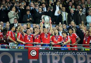 FC Bayern Munich - The 2013 UEFA Champions League Final at Wembley Stadium between FC Bayern Munich and Borussia Dortmund...