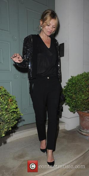 Kate Moss - Kate Moss leaving a private residence in Chelsea at 3:15 a.m. - London, England, United Kingdom -...