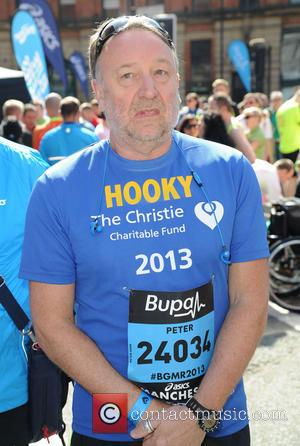 Peter Hook - The Bupa Great Manchester Run - Manchester, United Kingdom - Sunday 26th May 2013