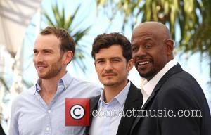 Conrad Kemp, Forest Whitaker and Orlando Bloom