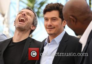 Jerome Salle, Orlando Bloom and Forest Whitaker