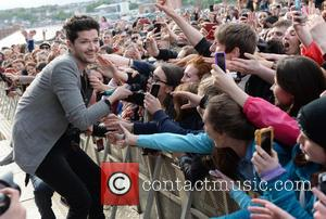 The Script - BBC Radio 1's Big Weekend - Performances - Day 3 - Derry, Northern Ireland - Sunday 26th...