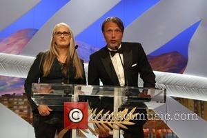 Jane Campion and Mads Mikkelsen