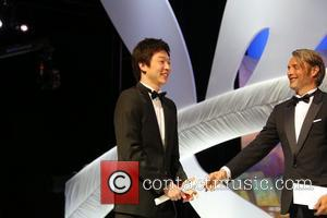 Mads Mikkelsen and Moon Byung-Gon