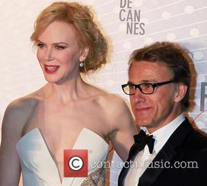 Nicole Kidman and Christoph Waltz
