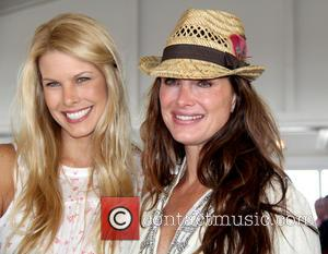 Beth Ostrosky Stern and Brooke Shields