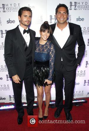 Scott Disick, Kourtney Kardashian and Joe Francis