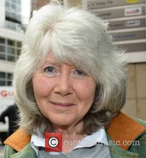 Jilly Cooper - Author Jilly Cooper at the Today FM studios - Dublin, Ireland - Monday 27th May 2013
