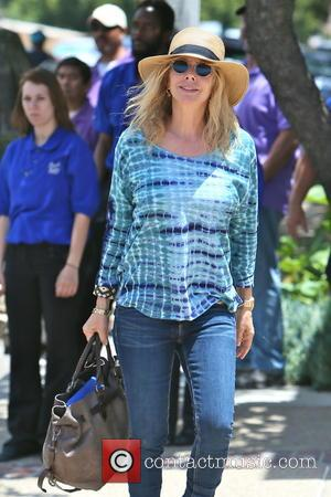 Rosanna Arquette - Celebrities arriving at Joel Silver's Memorial Day Party at his home in Malibu - Los Angeles, CA,...