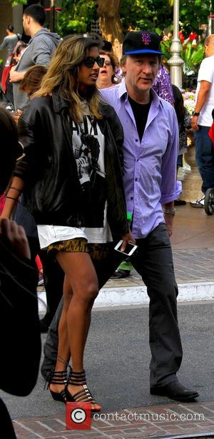 Bill Maher - Bill Maher and a female companion seen at The Grove on Memorial Day - Los Angeles, CA,...