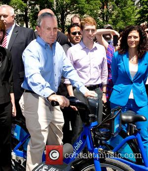 Michael Bloomberg - Mayor of New York City, Michael Bloomberg and DOT Commissioner, Janette Sadik-Khan hold a press conference for...
