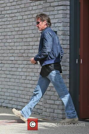 Sean Penn - Celebrities leaving Joel Silver's Memorial Day Party at his home in Malibu - Los Angeles, CA, United...