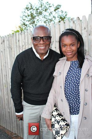 LA Reid - Music mogul LA Reid and his daughter Arianna Manuelle are seen outside Nick and Toni's - East...