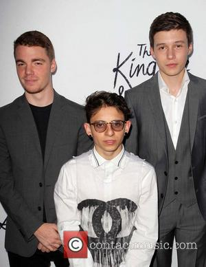 Gabriel Basso, Moises Arias and Nick Robinson
