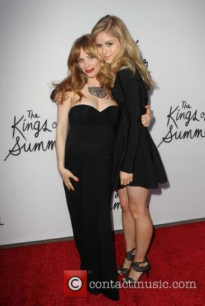 Erin Moriarty and Jaime Ray Newman
