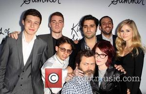 Moises Arias, Gabriel Basso, Nick Robinson, Chris Galletta, Jordan Vogt-roberts, Erin Moriarty and Megan Mullally