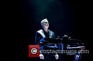 Andrew Fletcher - Depeche Mode performing live at the O2 Arena - London, United Kingdom - Tuesday 28th May 2013