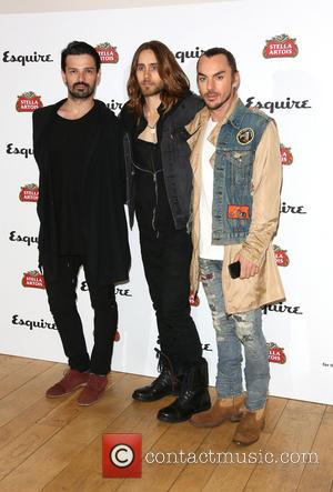 Jared Leto and 30 seconds to mars - Esquire and Stella Artois summer party 2013 held at Somerset House -...