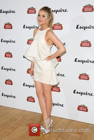 Laura Whitmore - Esquire and Stella Artois summer party 2013 held at Somerset House - arrivals - London, United Kingdom...