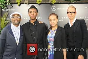 Spike Lee, Jackson Lee, Satchel Lee and Tonya Lewis Lee