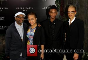 Spike Lee, Tonya Lewis Lee, Jackson Lee and Satchel Lee