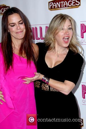 Lisa Ann Walter and Rosa Blasi - Opening night of 'Priscilla Queen of the Desert' at the Pantages Theatre -...