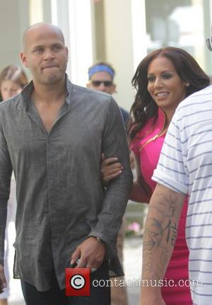 Melanie Brown, Mel B and Stephen Belafonte